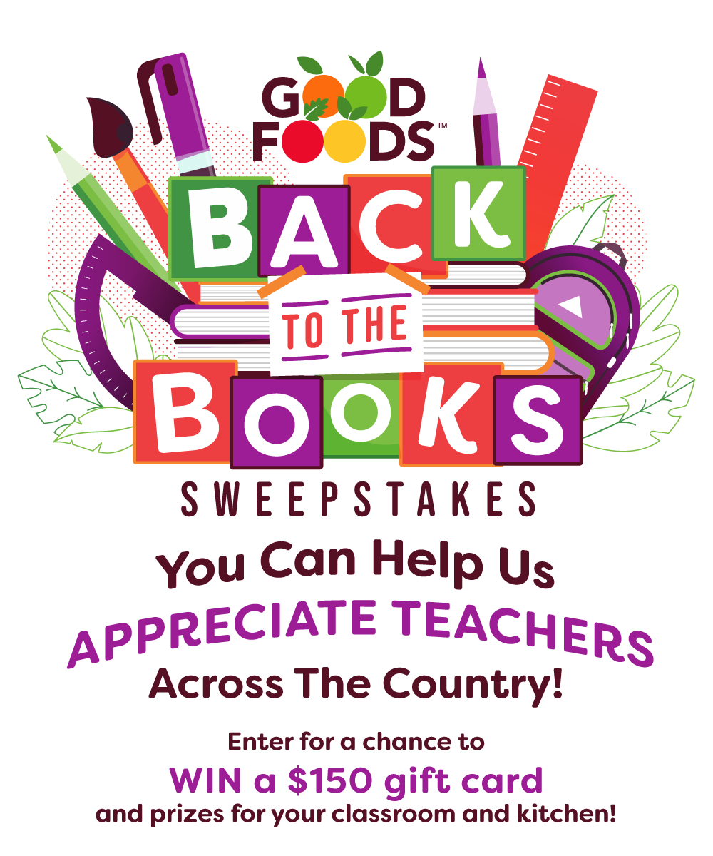 Back to the Books Sweepstakes